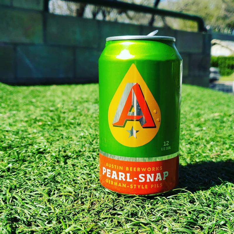 Pearl Snap Beer Austin Beerworks