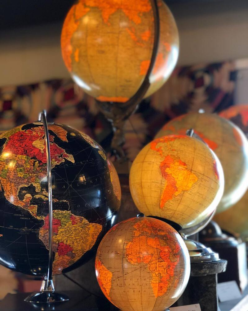 Uncommon objects globes